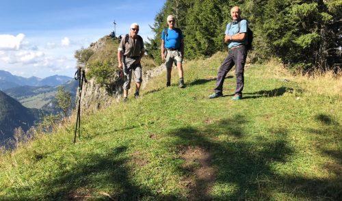 Artikelbild zu Artikel Wanderndes Gipfelbuch auf dem Rehleitenkopf